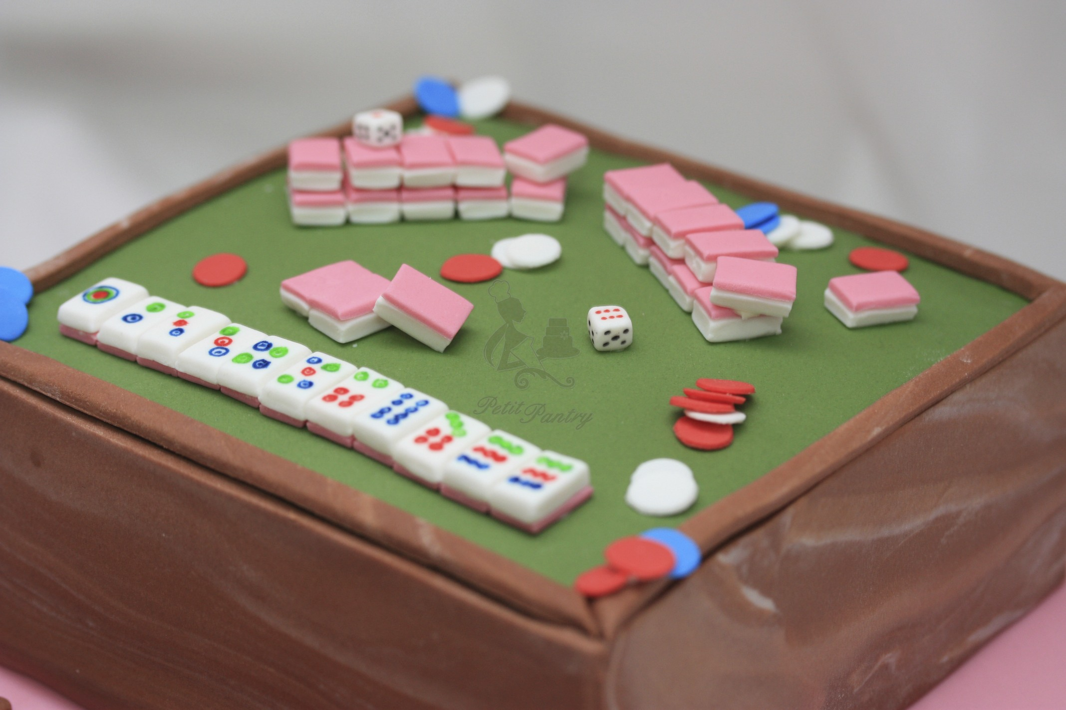 Mahjong Cake Opulent Cakes For All Occasions